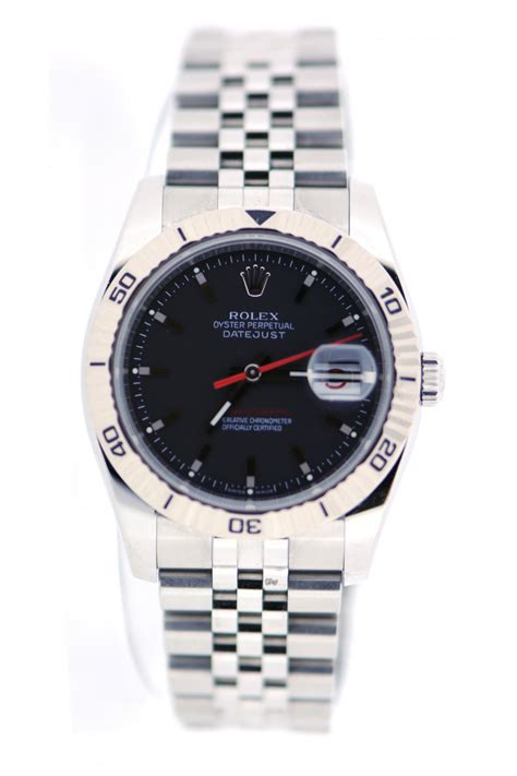 rolex pre owned mens rolex turn o graph rolex from