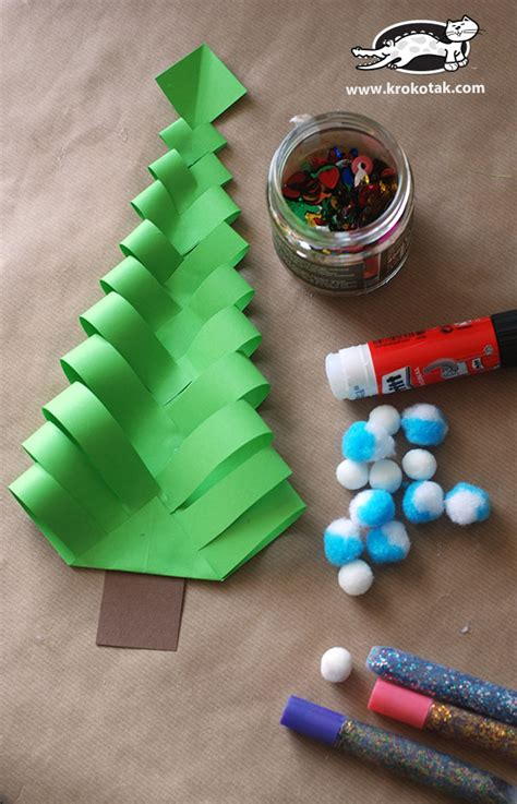 what are crafts to make for christmas out of styrofoam krokotak diy paper trees