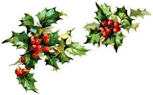 free christmas holly clip art 2 cliparting com