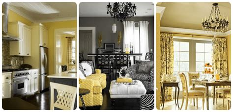 yellow and grey home decor decorating with yellow and gray