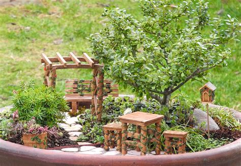 cute garden cute little square table closed sweet chair near mini bird