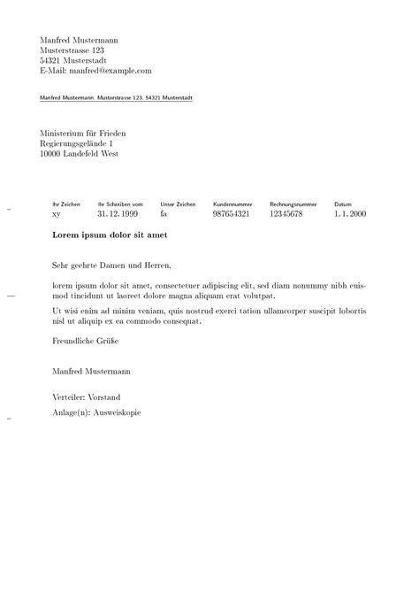 Lebenslauf Vorlage Vorstand bewerbung