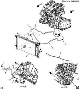2001 Pontiac Aztek Transmission Pontiac Aztek Automatic Transmission Cooler Pipes