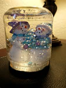inexpensive christmas craft 1 35 snowglobe budget