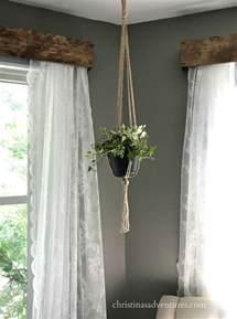 Wood Curtains Window Diy Wood Window Valance Christinas Adventures