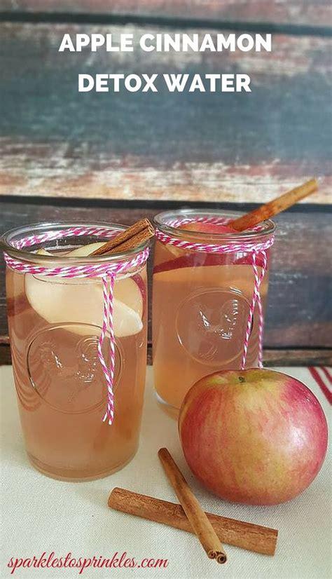 Bee Clean Detox Drink by Apple Cinnamon Detox Water Recipe Apple Cinnamon
