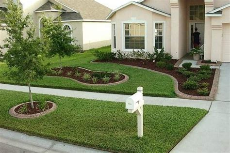 easy and cheap front yard landscaping ideas easy simple and cheap landscape 24 wartaku net
