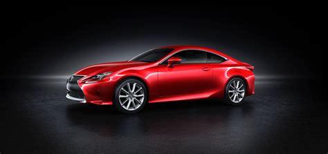 new lexus coupe lexus rc coupe getting new red paint color autoevolution