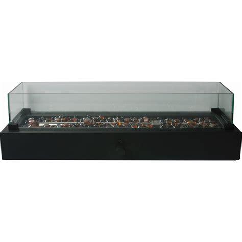 table top gas bowl shop bond 7 in w 40 000 btu black portable tabletop steel