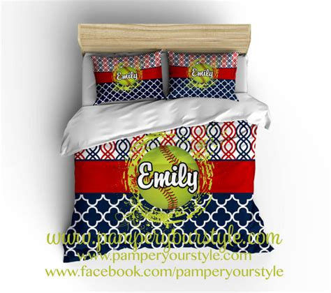 softball bedroom softball bedroom softball personalized bedding by