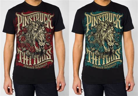 pinstruck tattoo pinstruck tattoos shirt