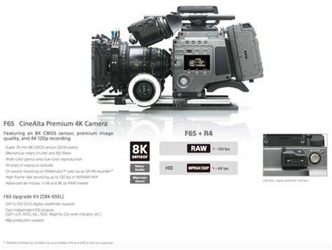 sony f65 workflow sony 4k cameras f65 and f55 the motion picture
