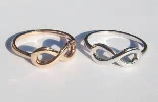 infinity wedding ring his and hers infinity knot wedding rings onewed