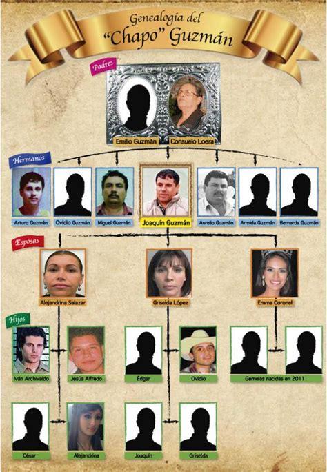 family tree for mexico s el chapo guzman narco
