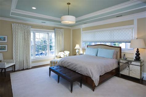 paint tray ceiling and room ceiling the same color and
