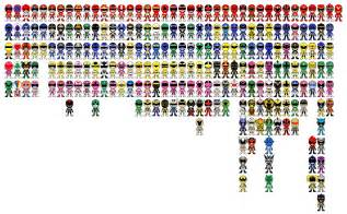 power ranger names and colors sentai by miralupa on deviantart