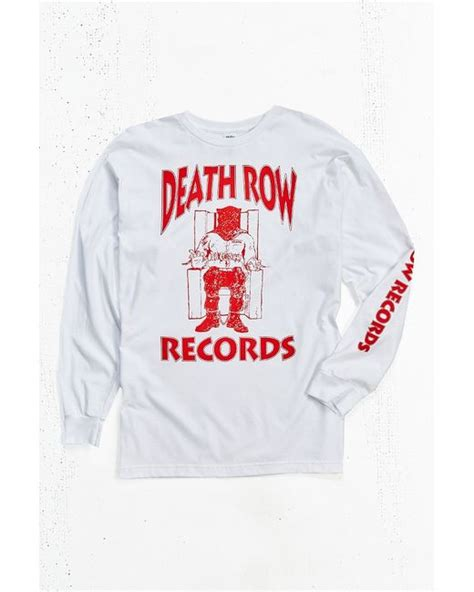 Row Records Clothing Outfitters Row Records Sleeve In White For Lyst