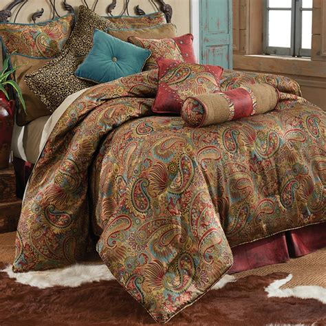 rustic bedroom comforter sets san angelo comforter set hiend accents rustic bedding