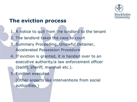 Tenant Eviction Notice Sa Evictions A Social Problem Comparative Evidence