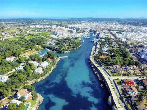 porto della spagna veduta porto di ciutadella minorca baleari spagna