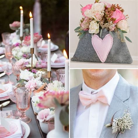 Good Color Combinations For Bedrooms wedding color palette pink gray and white to see more