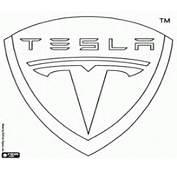 Malvorlagen Tesla Motors Emblem Ausmalbilder