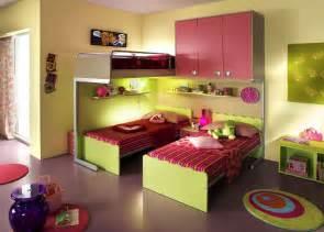 Ergonomic kids bedroom designs for two children from linead