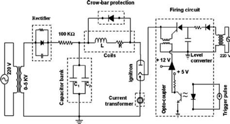 circuit diagram capacitor bank circuit and schematics
