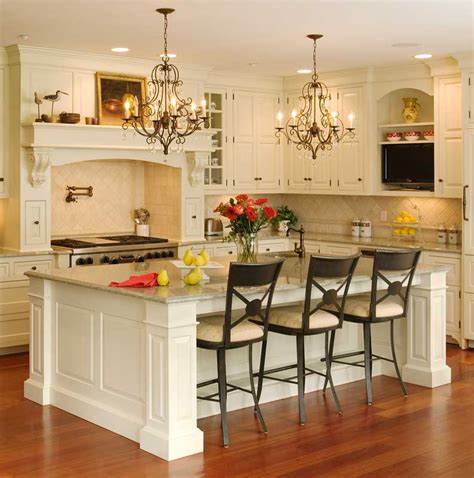 small island sink seating kitchens