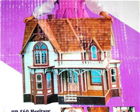 heritage dolls houses dura craft doll house kit heritage mansion victorian gothic model hr 560