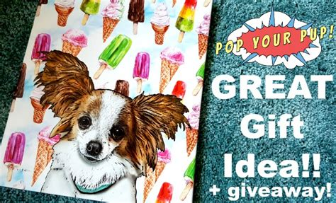Great Gift Giveaway - great gift idea pop your pup canvas art giveaway shesaved 174