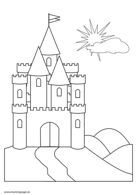 fairy tale castle coloring page free coloring pages of ogres