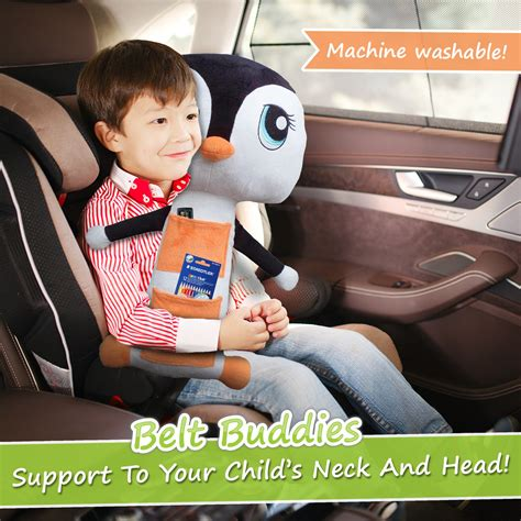 seat belt covers for toddlers galleon belt buddies penguin car seat comfortable