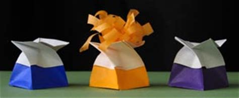 Origami Twist Box - how to fold an origami twist box