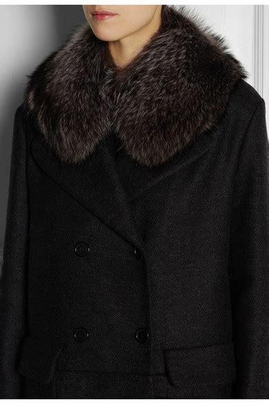 marni raccoon collar net  portercom