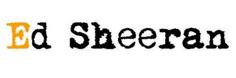ed sheeran logo ed sheeran logo hledat googlem music pinterest