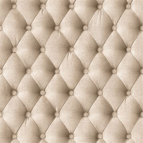 How To Put Buttons On Upholstery Designer Wallpaper Beige Linen Padding Koziel Murivamuriva