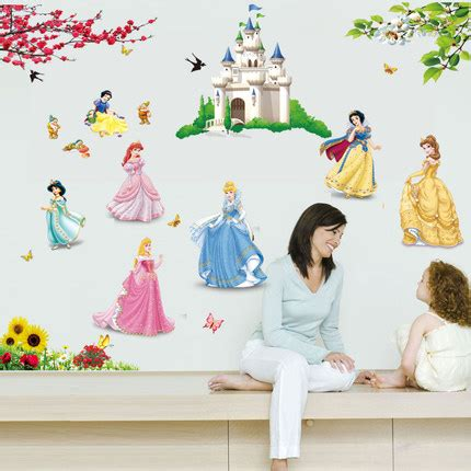 sale princess wall stickers children bedroom