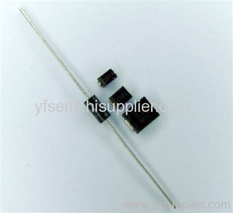 1n5822 diode 1n5822 schottky diode smd diode manufacturer from china shanghai yfsemi electronics co ltd