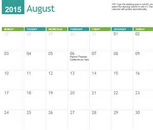 2014 2015 calendar template myexceltemplates releases 2015 calendar templates for new year