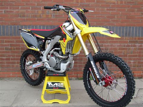 on road motocross bikes suzuki rmz rm z 250 2015 yoshimura edition mx road