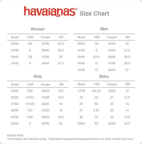 shoe size chart havaianas 301 moved permanently