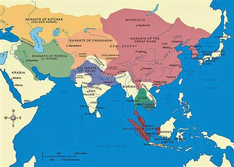 mongol empire map mongol empire map images