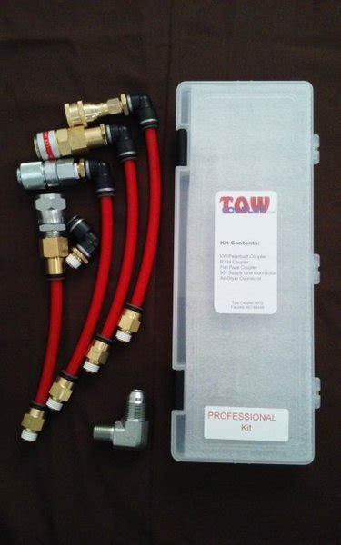 tow coupler air coupler specialty towing products