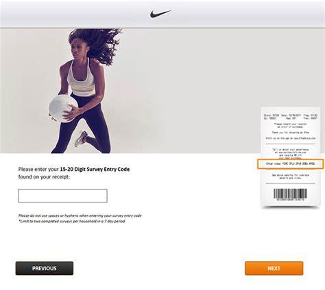Nike Store Survey Gift Card - mynikevisit na com nike customer store survey