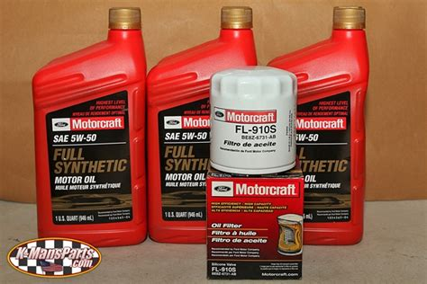 ford synthetic change motorcraft 5w 50 synthetic motor change kit 2016