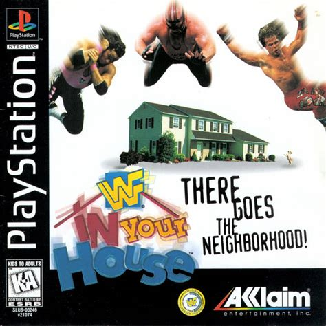 wwf in your house box for playstation gamefaqs
