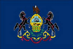 of pennsylvania colors pennsylvania state flag flagnations