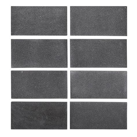 jeff lewis tile jeff lewis 3 in x 6 in honed basalt field wall tile 8