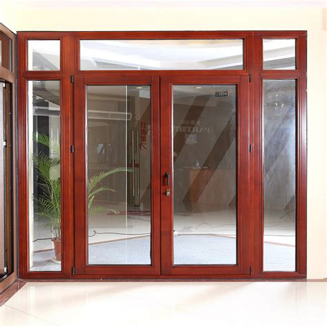 Aluminum Clad Exterior Doors China Aluminum Clad Wood Door Ts 209 Photos Pictures Made In China